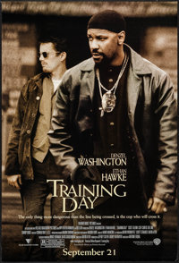 """Training Day (Warner Brothers, 2001). One Sheet (27"""" X 40"""") DS Advance. Crime"""