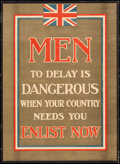 "Movie Posters:War, World War I Propaganda (Parliamentary Recruiting Committee, 1915).British Recruitment Poster No. 67 (Approx. 21"" X 29"") ""Me..."