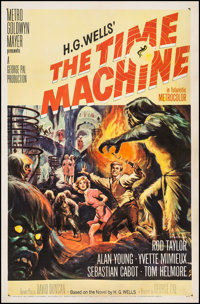 "The Time Machine (MGM, 1960). One Sheet (27"" X 41""). Science Fiction"