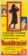 """Movie Posters:Drama, Woman in a Dressing Gown (Warner Brothers, 1957). Australian Three Sheet (40"""" X 79""""). Drama.. ..."""