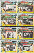 "Movie Posters:War, In Harm's Way & Other Lot (Paramount, 1965). Mexican LobbyCards (16) (Approx. 12.5"" X 16.25""). War.. ..."