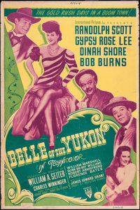 "Belle of the Yukon & Other Lot (RKO, 1944). Silk Screen Posters (2) (40"" X 60"") Style B. Musical. ... (Tot..."