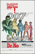 "Movie Posters:James Bond, Dr. No (United Artists, R-1980s). One Sheet (27"" X 41""). James Bond.. ..."