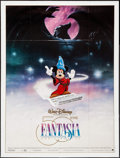 """Movie Posters:Animation, Fantasia (Warner Brothers, R-1990). French Grande (45.5"""" X 61"""").Animation.. ..."""