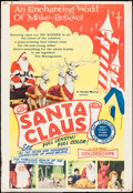 """Movie Posters:Fantasy, Santa Claus & Other Lot (K. Gordon Murray , 1960). Posters (2)(40"""" X 60""""). Fantasy.. ... (Total: 2 Items)"""