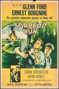 "Movie Posters:War, Torpedo Run (MGM, 1958). Poster (40"" X 60"") Style Y. War.. ..."