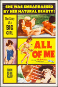 "Movie Posters:Sexploitation, All of Me (Joseph Brenner Associates, 1963). Poster (40"" X 60"").Sexploitation.. ..."