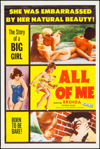 "All of Me (Joseph Brenner Associates, 1963). Poster (40"" X 60""). Sexploitation"