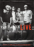 "Movie Posters:Musical, Van Halen: Live: Right Here, Right Now (Warner Brothers, 1993). Album Poster (42"" X 58""). Musical.. ..."