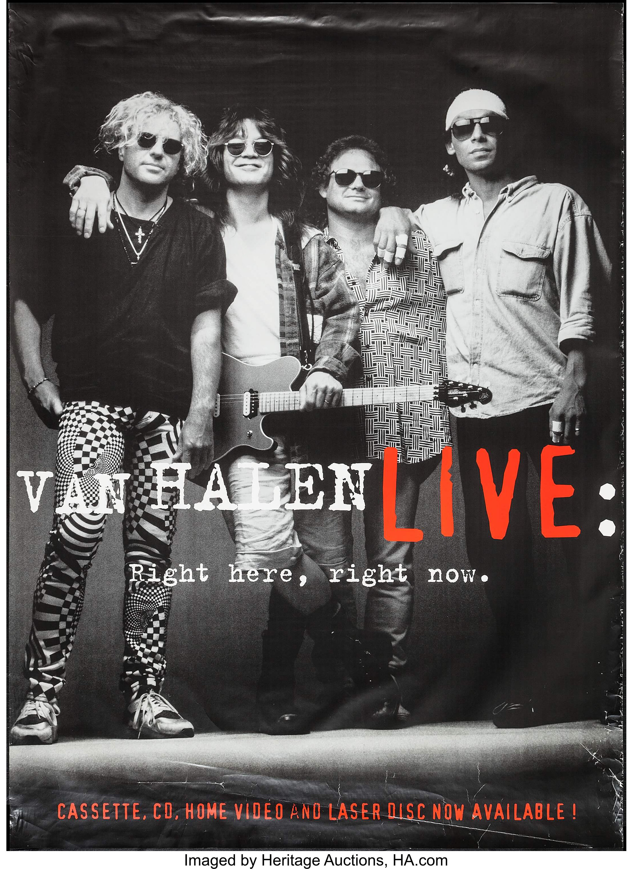 Van Halen Live Right Here Right Now Warner Brothers 1993 Lot 53292 Heritage Auctions Give him/her some advice on how to do it. heritage auctions