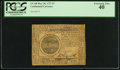 Colonial Notes:Continental Congress Issues, Continental Currency May 20, 1777 $7 PCGS Extremely Fine 40.. ...