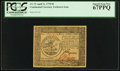Colonial Notes:Continental Congress Issues, Continental Currency April 11, 1778 $5 PCGS Superb Gem New 67PPQ.....