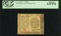 Colonial Notes:Continental Congress Issues, Continental Currency April 11, 1778 $20 PCGS Choice New 63PPQ.. ...