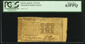 Colonial Notes:Maryland, Maryland April 10, 1774 $1/9 PCGS Choice New 63PPQ.. ...