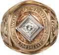 Baseball Collectibles:Others, 1989 Eric Gregg World Series Umpire's Ring....