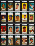 Baseball Cards:Sets, 1952 Topps Baseball Complete Set (407). ...