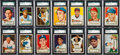 Baseball Cards:Sets, 1952 Topps Baseball Complete Low & Middle Series Run (310). ...
