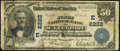 National Bank Notes:Pennsylvania, McKeesport, PA - $50 1902 Date Back Fr. 674 The First NB Ch. #(E)2222. ...