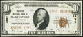 National Bank Notes:Pennsylvania, McKeesport, PA - $10 1929 Ty. 2 The Union NB Ch. # 13967. ...