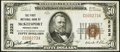 National Bank Notes:Pennsylvania, McKeesport, PA - $50 1929 Ty. 1 The First NB Ch. # 2222. ...