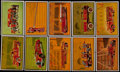 Non-Sport Cards:Lots, 1953 Bowman Firefighters (62/65) Plus 23 Extras. ...