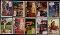 "Non-Sport Cards:Lots, 1954 Topps ""Scoops"" Collection (69)...."