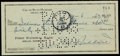 Baseball Collectibles:Others, 1963 Cal Hubbard Signed Check - Only Man in Both Baseball andFootball Halls of Fame! ...