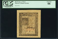 Colonial Notes:Delaware, Delaware January 1, 1776 4s PCGS Gem New 66.. ...