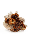 Minerals:Thumbnail, Goethite. George W. MacLeod mine. McMurray Township, Algoma District. Ontario, Canada. 1.21 x 1.01 x 0.71 inches (3.08 x 2...