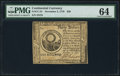 Colonial Notes:Continental Congress Issues, Continental Currency November 2, 1776 $30 PMG Choice Uncirculated64.. ...