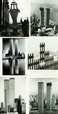 Books:Prints & Leaves, [World Trade Center]. Collection of Approximately 160 Photographs,Images, and Press Prints Relating to the World Trade Center...