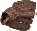Baseball Collectibles:Others, 1960's Ron Santo Game Used Fielder's Glove. ...