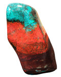 Lapidary Art:Carvings, Sonora Sunset. Milpillas Mine. Sonora. Mexico. 5.63 x 3.07 x1.78 inches (14.30 x 7.79 x 4.51 cm). ...