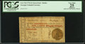 Colonial Notes:Georgia, Georgia 1776 $1 PCGS Apparent Very Fine 25.. ...