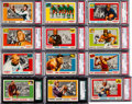 Football Cards:Sets, 1955 Topps All-American Football High Grade Complete Set (100). ...