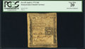 Colonial Notes:Pennsylvania, Pennsylvania April 3, 1772 18d John Morton PCGS Very Fine 20.. ...