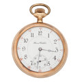 Timepieces:Pocket (post 1900), Illinois 17 Jewels Open Face Pocket Watch. ...