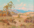 Fine Art - Painting, American:Modern  (1900 1949)  , Maurice Braun (American, 1877-1941). Summer's Sycamores. Oilon canvas. 25-1/4 x 30-1/4 inches (64.1 x 76.8 cm). Signed ...