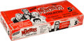 """Non-Sport Cards:Unopened Packs/Display Boxes, 1966 Leaf """"The Munsters"""" Theatre (Empty) Wax Box. ..."""