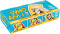 """Non-Sport Cards:Unopened Packs/Display Boxes, 1967 Topps """"Who Am I?"""" (Empty) Wax Box. ..."""