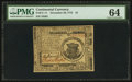 Colonial Notes:Continental Congress Issues, Continental Currency November 29, 1775 $1 PMG Choice Uncirculated64.. ...