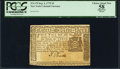 Colonial Notes:New York, New York September 2, 1775 $3 PCGS Apparent Choice About New 58.....