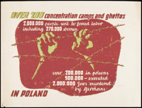 "World War II Propaganda (Polish Government Information Center, Early 1940s). Propaganda Poster (34"" X 45"") &qu..."