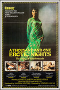 """Movie Posters:Adult, A Thousand and One Erotic Nights (Essex, 1982). One Sheet (25"""" X 38"""") & Cut Pressbook (11"""" X 17""""). Adult.. ... (Total: 2 Items)"""