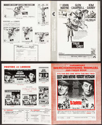 "El Dorado & Others Lot (Paramount, 1966). Uncut Pressbooks (4) (Multiple Pages, 8.5"" X 14"", 12.25""..."