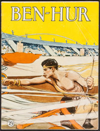 "Ben-Hur (MGM, 1925). Program (20 Pages, 9"" X 12""). Historical Drama"