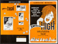 """Movie Posters:Exploitation, Swinging High & Others Lot (Cast Films, 1973). Uncut Pressbooks(50) (Multiple Pages, 8.5"""" X 11"""", 10"""" X 14"""", & 11"""" X 17""""...(Total: 50 Items)"""