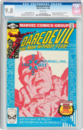 Modern Age (1980-Present):Superhero, Daredevil #167 (Marvel, 1980) CGC NM/MT 9.8 White pages....