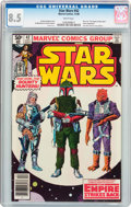 Modern Age (1980-Present):Science Fiction, Star Wars #42 (Marvel, 1980) CGC VF+ 8.5 White pages....