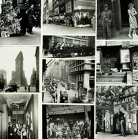 [New York City]. Archive of Approximately 180 Photographs and Press Prints Relating to New York City